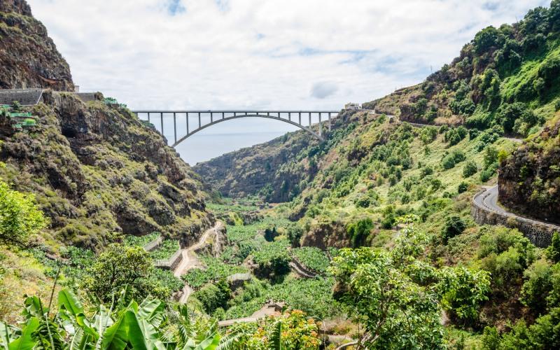Bridge of San Andrés y Sauces