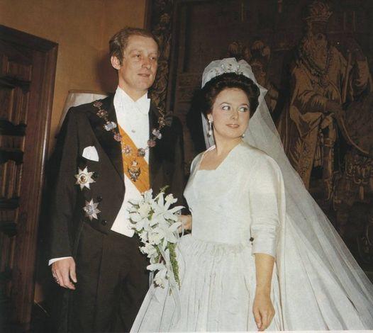 Prince Franz Wilhelm von Preussen and his wife Grand Duchess Maria Vladimirovna Romanova