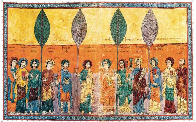 Miniature of the Beatus of Gerona