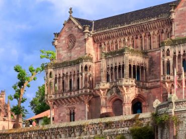 Pantheon and Palace of Sobrellano, a neo-Gothic Fantasy in Comillas