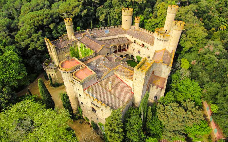 Castle of Santa Florentina (Canet de Mar)
