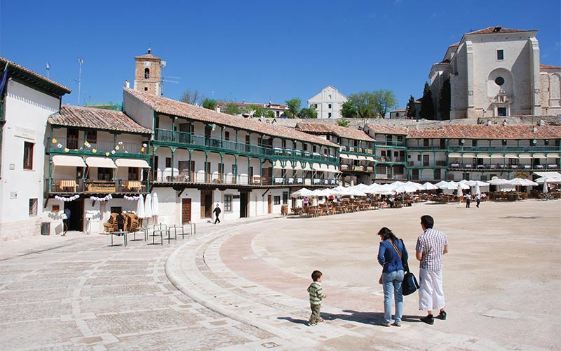 Pueblos más bonitos de Madrid: Chinchón