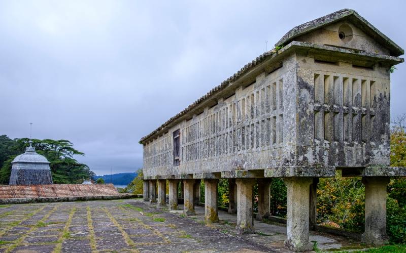 Hórreo of the Pazo de Lourizán