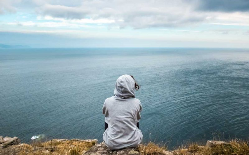 Mirar mar camino santiago