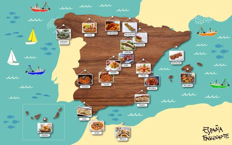 tapas de España