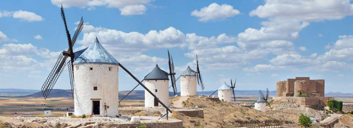 """Discovering the Spanish Windmills: Don Quixote's Special """"Giants"""""""