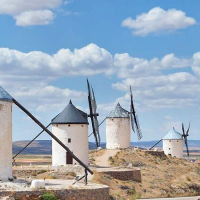 "Discovering the Spanish Windmills: Don Quixote's Special ""Giants"""