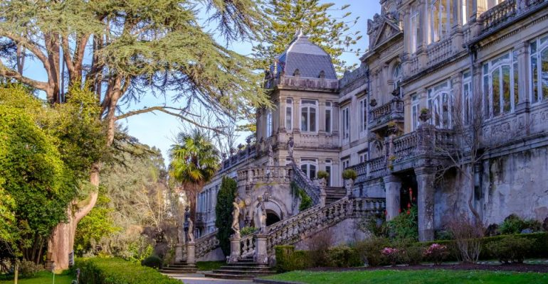 Pazo de Lourizán, a dreamlike place in the middle of nowhere