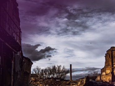 Haunted places in Spain: Pueblo Viejo de Belchite