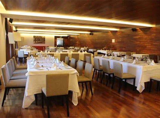 comer san juan pena restaurante hospederia monasterio