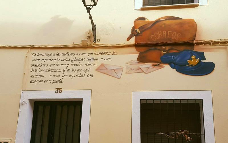 Homage to the postmen | Photo: Facebook romangordo para vivir