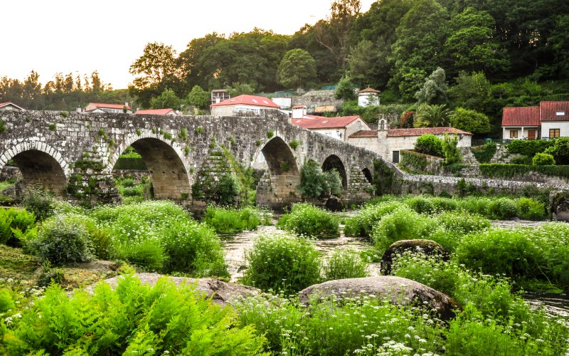 A Ponte Maceira, a beautiful village