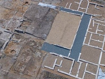 A new segment of the impressive Roman villa of Santa Lucía in Aguilafuente has been found