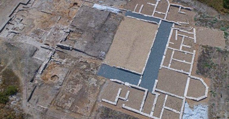 A new segment of the impressive Roman villa of Santa Lucía in Aguilafuente has been found