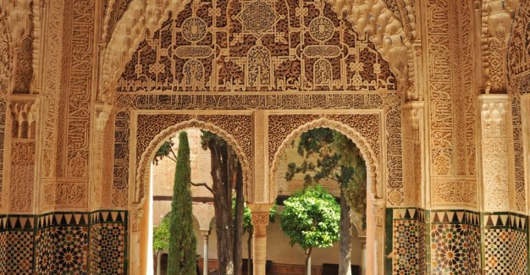 The legacy of Al-Andalus through the great Moorish buildings in Spain