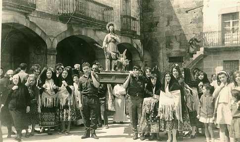 San Martín de Trevejo foto antigua