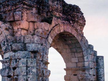 Arco de Cáparra, a unique Roman monument in Spain