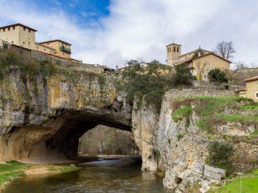 Puentedey, the village that emerged on the 'Bridge of God'