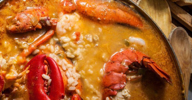 Arroz con Bogavante (Rice with Lobster) Recipe, the perfect rice for a special occasion