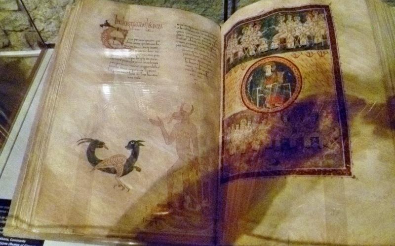 Beatus of Gerona, made in the monastery of Tábara
