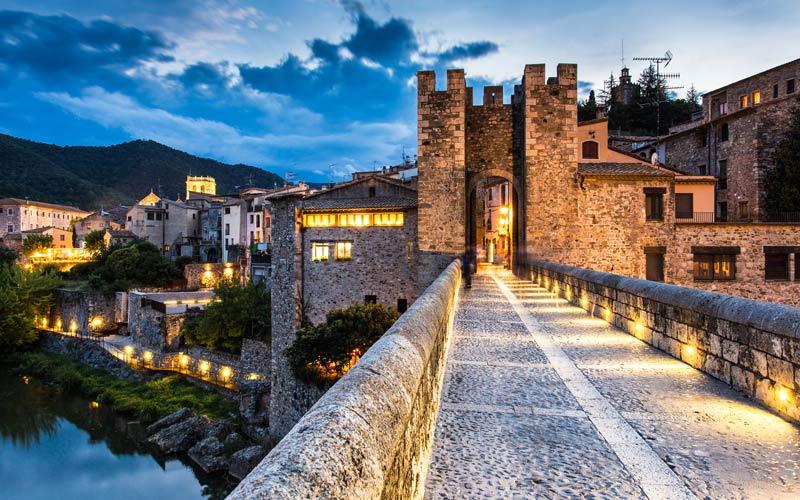 Pueblos Medievales en Cataluña