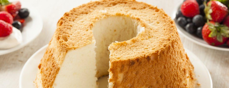 Angel sponge cake