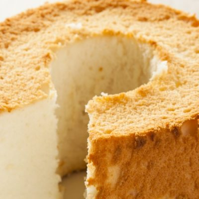 Angel sponge cake, a treat of the gods