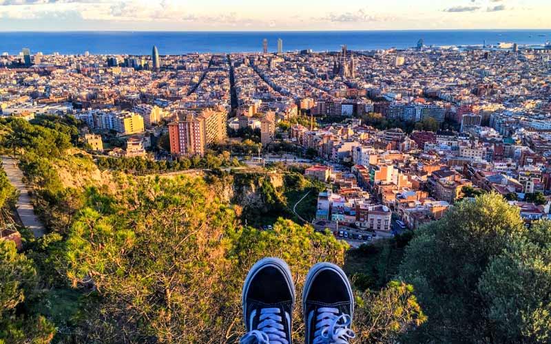 planes románticos en Barcelona