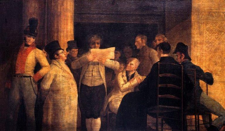 Meetings at Café de Levante
