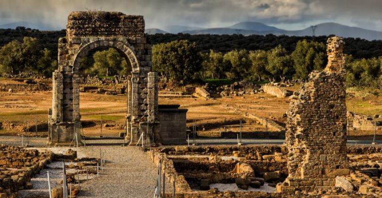 "Vía de la Plata, the legendary Roman ""highway"" that linked western Hispania"