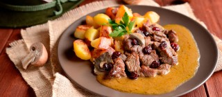 carne niscalos patatas