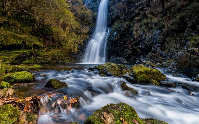 Cioyo waterfall
