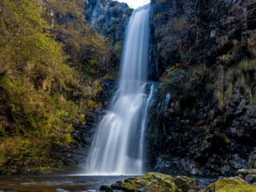Cioyo waterfall or how to listen magical sounds in Asturias