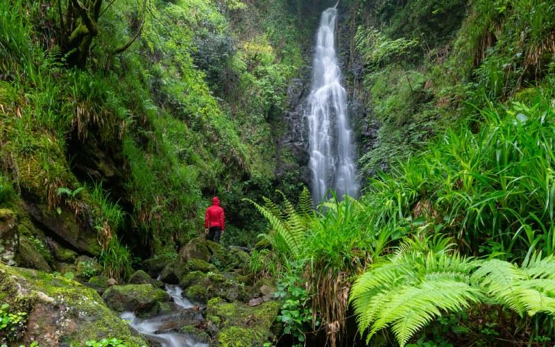 Belaustegi waterfall