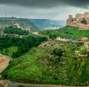The castle of Monzón, the last Templar stronghold in Aragón