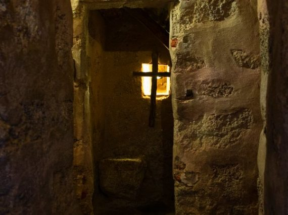 El Palancar Convent, the smallest monastery in the world