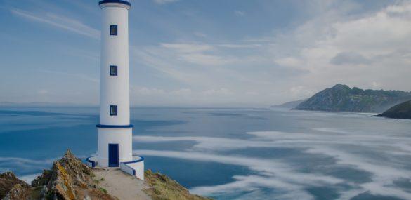 Costa da Vela, facing the infinite Atlantic