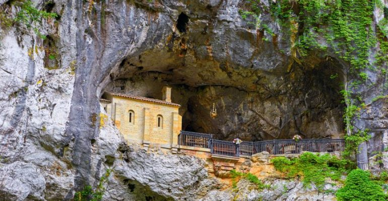 Holy caves of Spain, places of pilgrimage