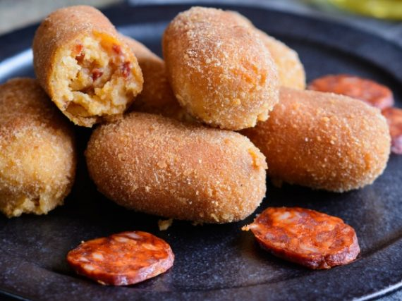 Spanish Chorizo Croquettes Recipe