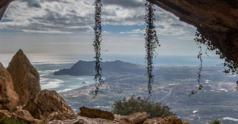 El Forat, a window watching the Mediterranean coastline
