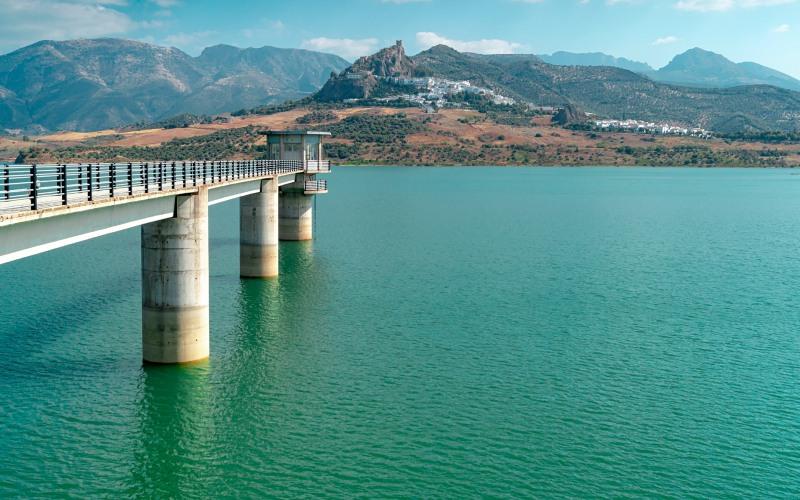 Zahara-El Gastor reservoir