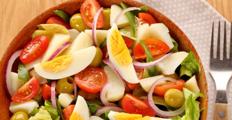 Traditional mixed salad, the one and only