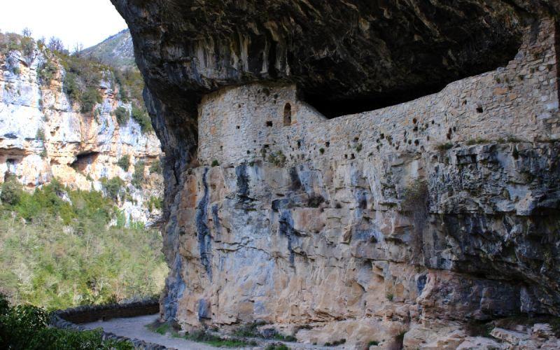 The hermitage of San Úbez