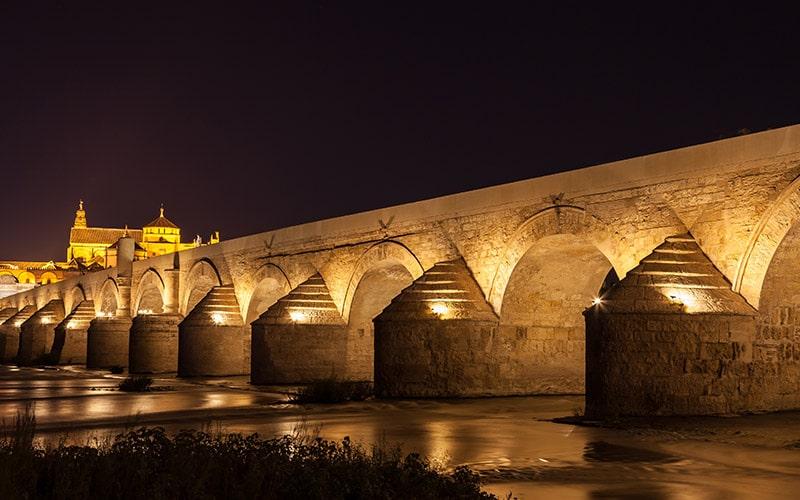 Roman Bridge in Córdoba.