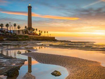 Chipiona lighthouse, the highest of Spain