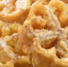 Florones or Flores Fritas, an eye-catching sweet for Easter