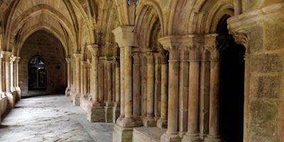 Interior del Monasterio de Santa María la Real que ver en Aguilar de Campoo