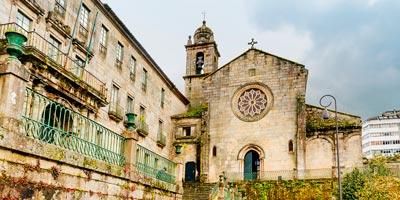 Convento de San Francisco en la ciudad de Pontevedra
