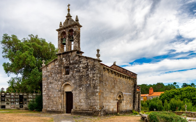 Cereixo Church, 12th century