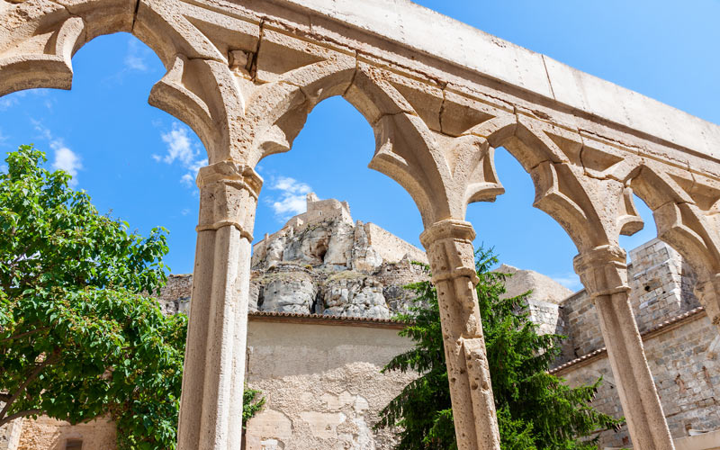 Cloister of the Convent of San Francisco on the access to the Castle of Morella | Shutterstock